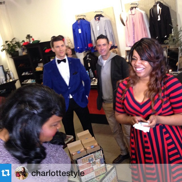 #Repost @charlottestyle with @repostapp.・・・Men's fashion! | Live w/ Good Day Carolina's | tune at now|Recap Fashion & Trends live in store at @silverflybrands Charlotte at The Met