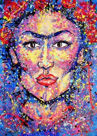 Frida Khalo by Mahogany Windows