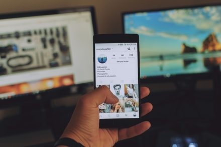 social media content library