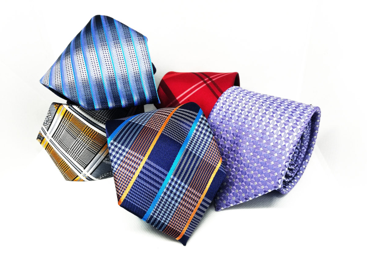 made neckties