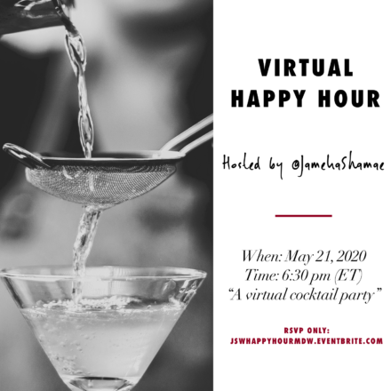 Virtual Happy Hour Memorial Day Weekend