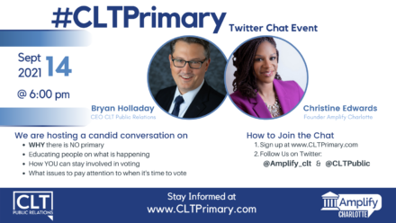 CLT Primary Twitter Chat